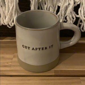 "Hearth & Hand ""Get After It"" mug"